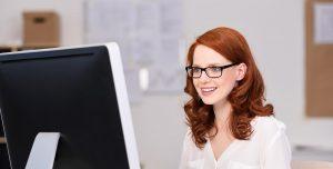 computer glasses prevent hunching
